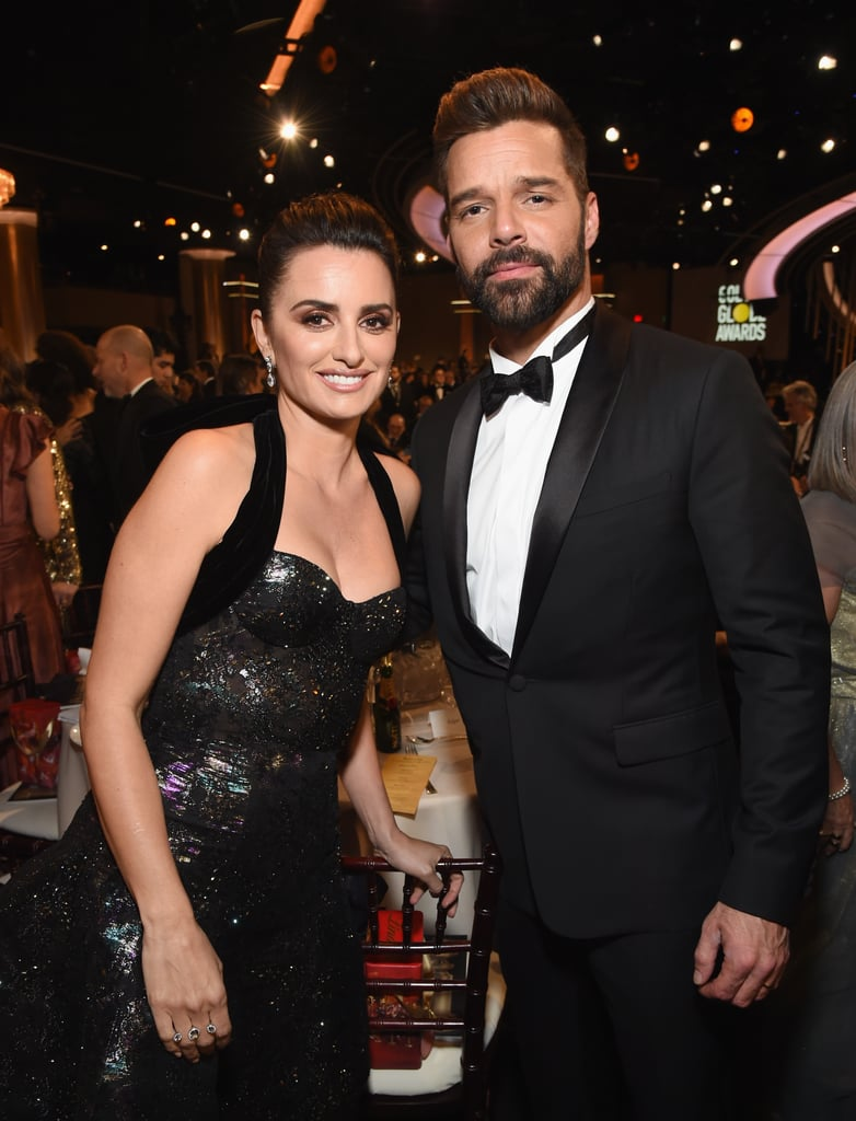 Pictured: Penélope Cruz and Ricky Martin