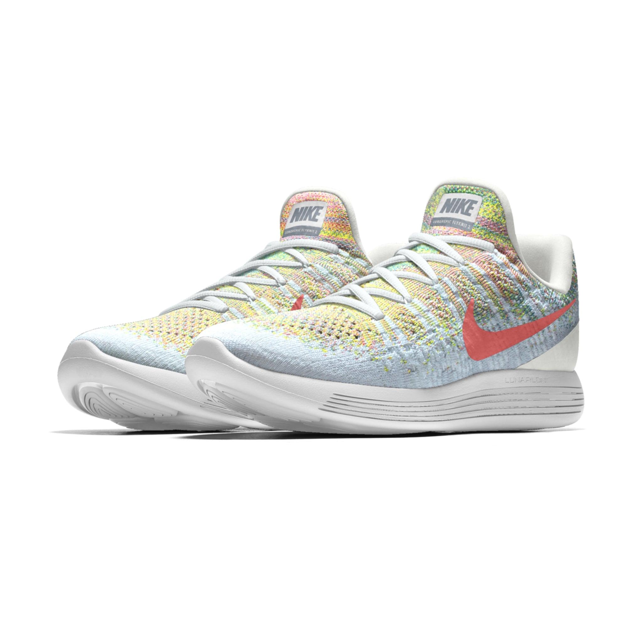 Pastel Nike Running Shoe Lunarepic Flyknit Low 2 iD  8154f4f53876