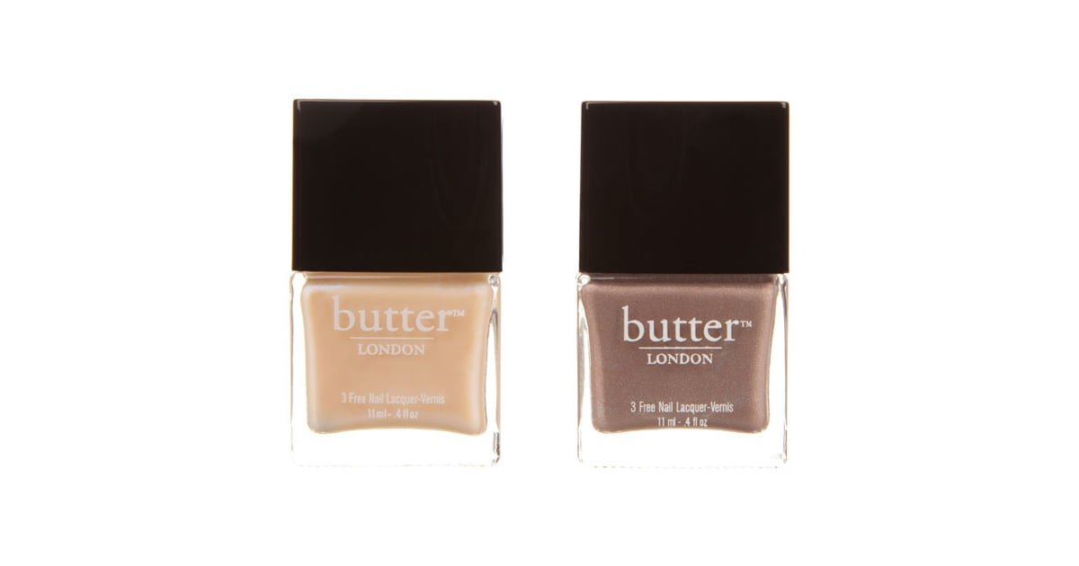 Butter London Nail Polish Duo in All Hail the Queen and Hen Party Beauty, $40 (for two)