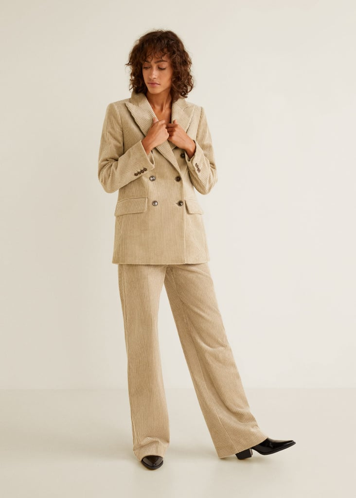 Mango Corduroy Suit