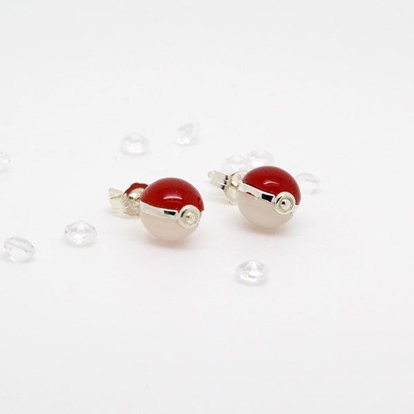 Pokeball Earrings ($35)