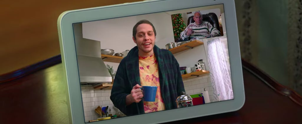 How Pete Davidson and His Poppy Celebrate Holidays Virtually