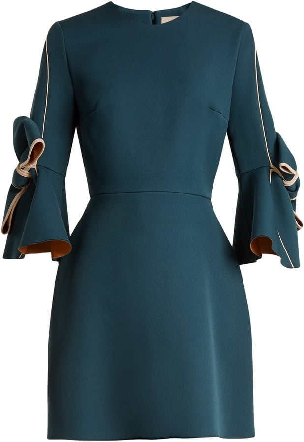Roksanda Harlin Bow-Sleeved Dress