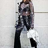 Loewe bag at Milan Fashion Week