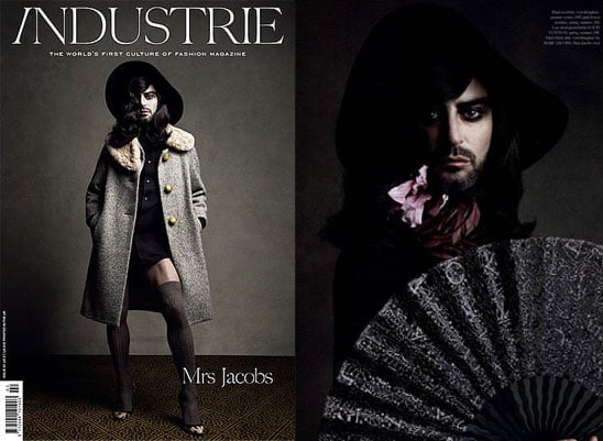 See Marc Jacobs In Drag! The Designer Dons Katie Grand's Dresses For Industrie Mag