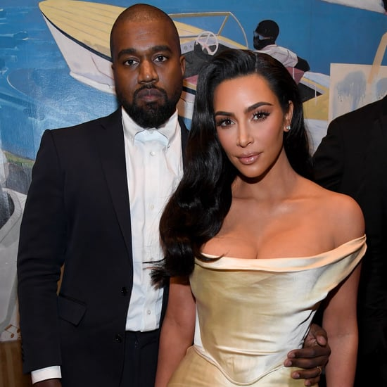 Kim Kardashian Wore a Vintage Wedding Dress to Diddy's 50th
