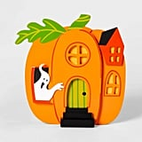 Mini Mantel Pumpkin House Halloween Decor