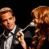 Isla Fisher, Alec Baldwin, and Chris Pine spoke about Rise of the Guardians.