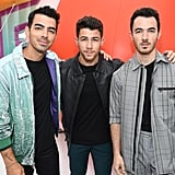 Joe Jonas, Nick Jonas, and Kevin Jonas at the Teen Choice Awards 2019