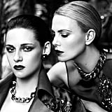 Charlize Theron and Kristen Stewart teamed up for a sexy photo shoot.