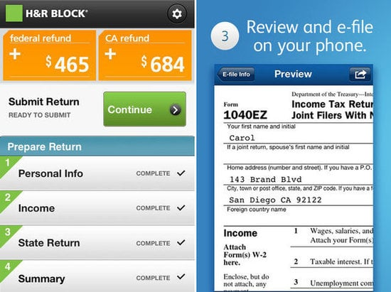 Tax Apps to File on Your Phone