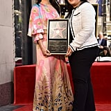 Lucy Liu Hollywood Walk of Fame Ceremony Pictures