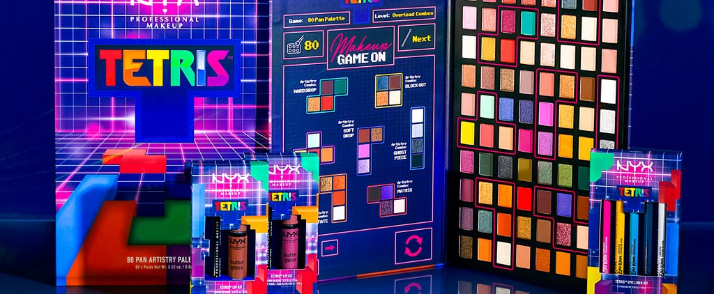NYX's Tetris Makeup Collection Is Filled With Nostalgia
