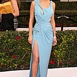 The actress stunned at the 2016 SAG Awards in a Spring '16 Atelier Versace gown.