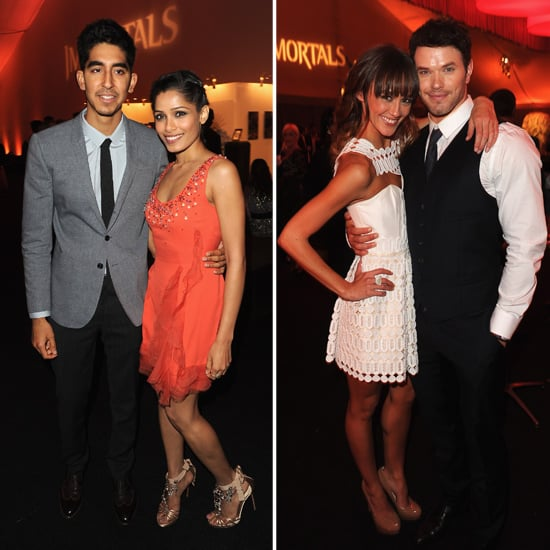 Kellan Takes His New Romance Public at the Immortals Premiere With Freida and Henry