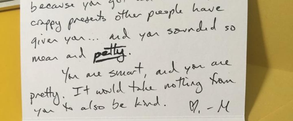 Read the Note a Mom Wrote to a Group of Petty Teenagers She Overheard in Starbucks
