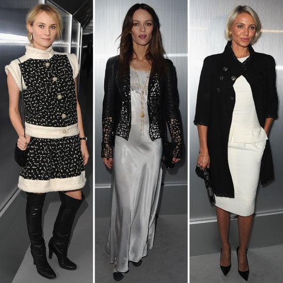 Cameron Diaz Pictures at Chanel Couture Show