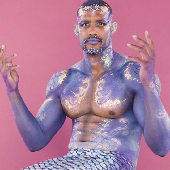 Mermaid Body-Painting Challenge