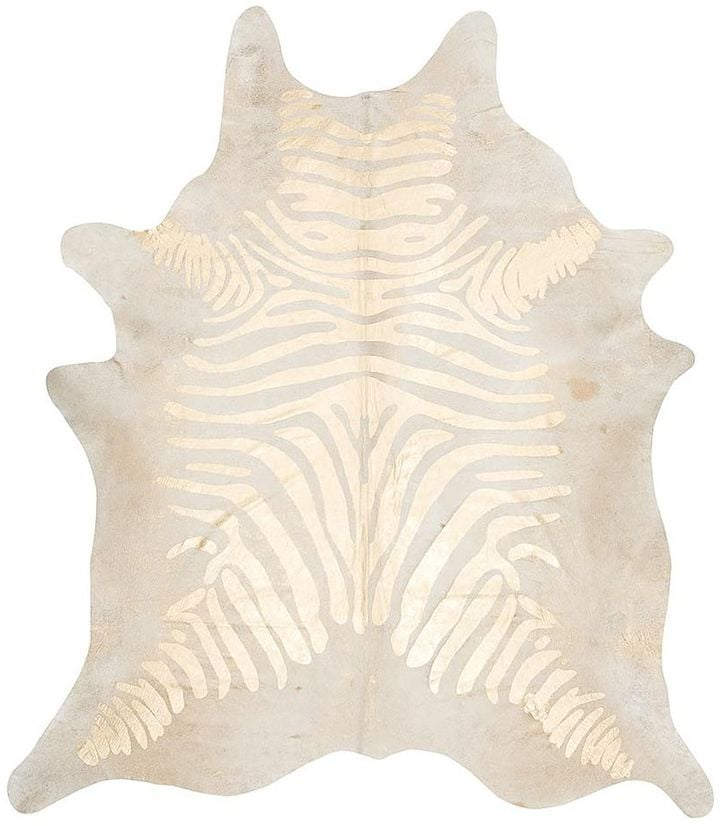 Zebra Rug ($965)