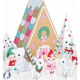 Peppermint Gingerbread Cottage Playset
