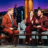 Ben Platt and Zoey Deutch on The Late Late Show with James Corden