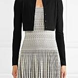 Alaïa Cropped Wool-Blend Cardigan