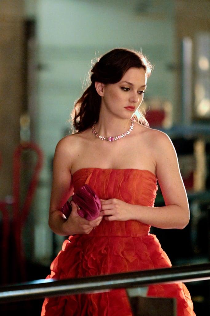 Blair Waldorf or 1940s melodrama star? | Leighton Meester\'s Brown ...