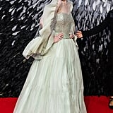 Elle Fanning at the Maleficent: Mistress of Evil Premiere in London