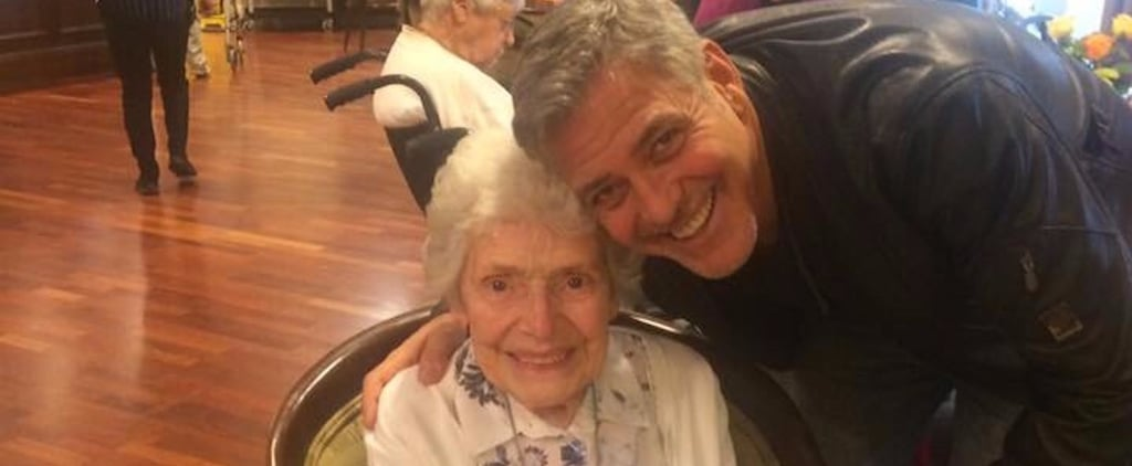 George Clooney Surprend une Fan Lors de Son 87ème Anniversaire
