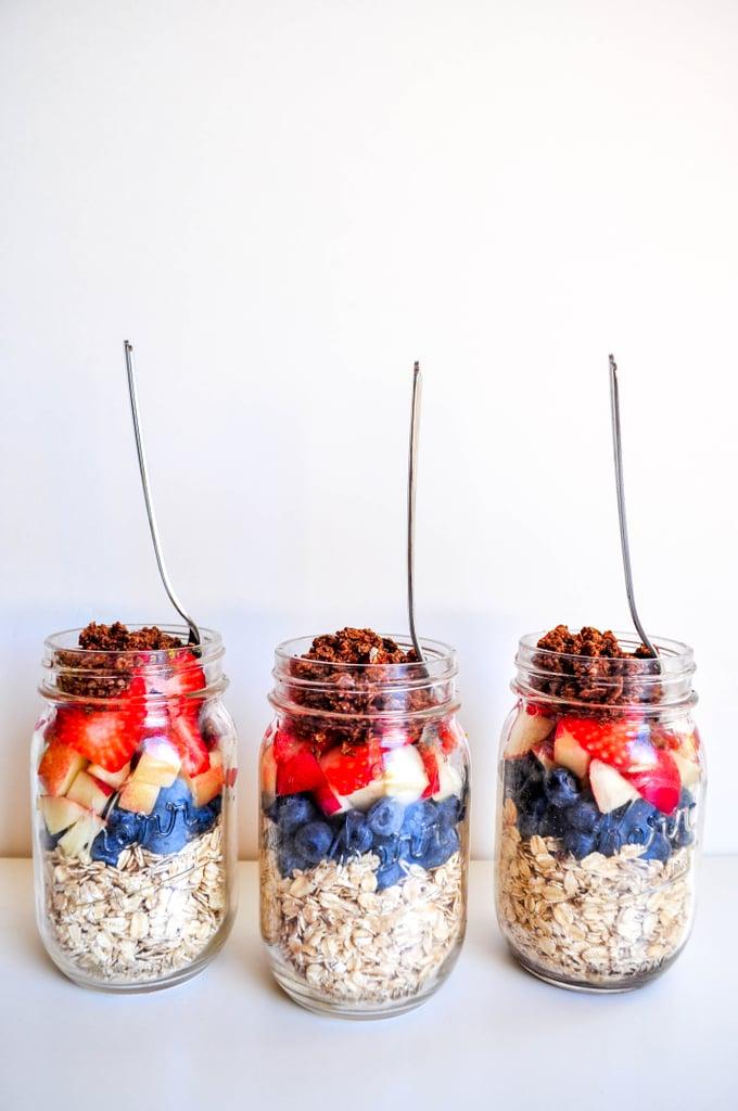 Breakfast: Vanilla Berries Overnight Oats