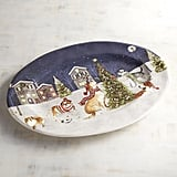 Park Avenue Puppies Christmas Tree Oval Platter ($30)