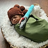 Photos of Babies Dressed as Star Wars Characters