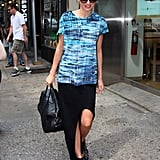 Miranda Kerr Balances Flynn and Work in the Big Apple