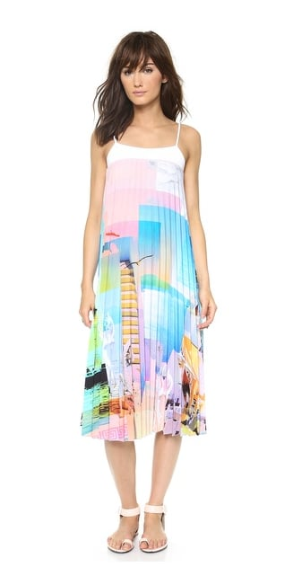 Clover Canyon Watercolor Midi Dress