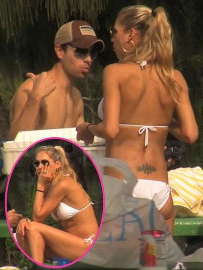 Pictures of Anna Kournikova Bikini Pictures and Enrique Iglesias Shirtless