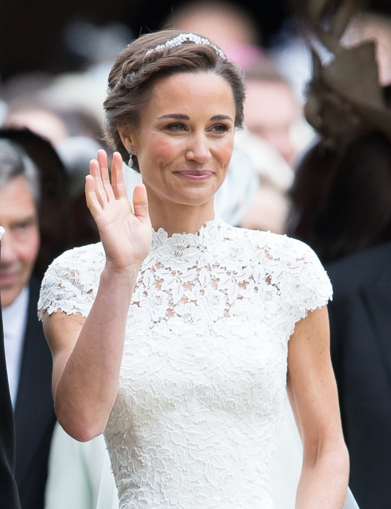 Pippa Middleton's Wedding Earrings | POPSUGAR Fashion ...