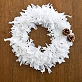 DIY Plastic Bag Wreath