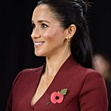 Meghan Markle's Playful hair and Minimal Makeup