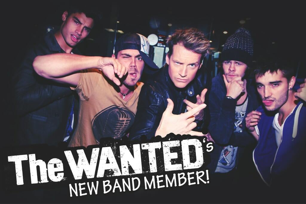 Jules Lund joined — or at least tried to join — UK boy band The Wanted. Source: Twitter user fifiandjules
