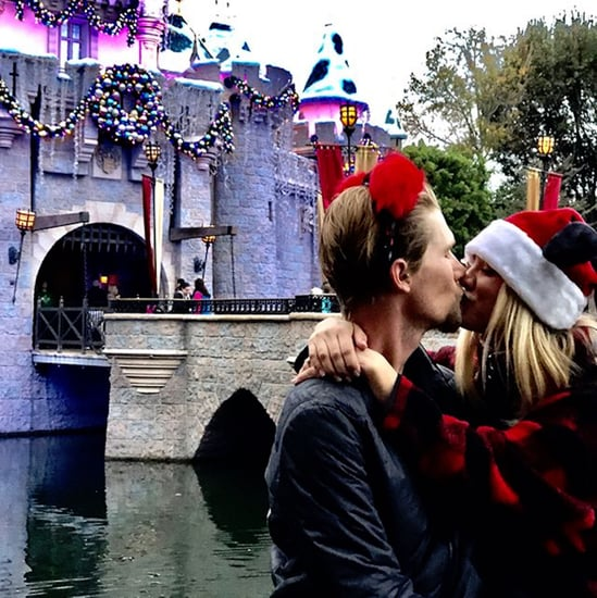 Kaley Cuoco and Karl Cook at Disneyland Pictures 2017
