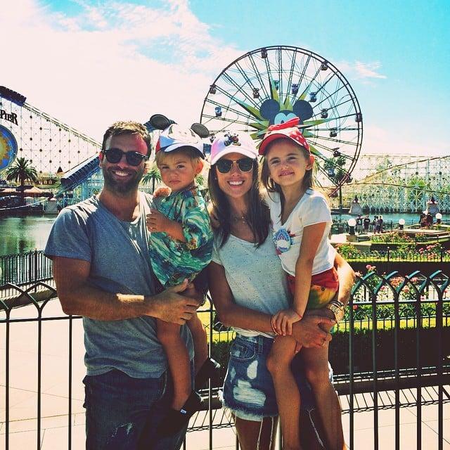 Alessandra Ambrosio celebrated her daughter's birthday at Disneyland.  Source: Instagram user alessandraambrosio
