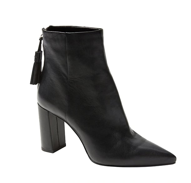Tassel Zip High-Heel Ankle Boot