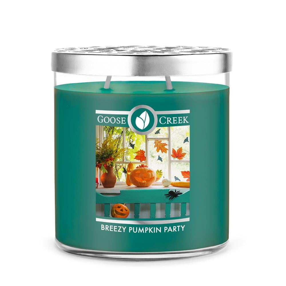 Goose Creek Breezy Pumpkin Party Large Jar Candle