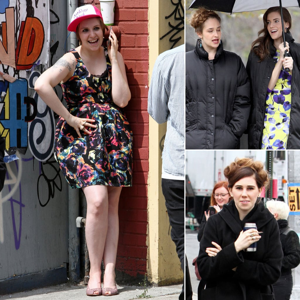 Girls Filming Season 3 in NYC | Photos