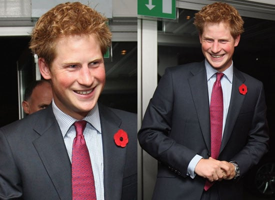 28/10/2008 Prince Harry