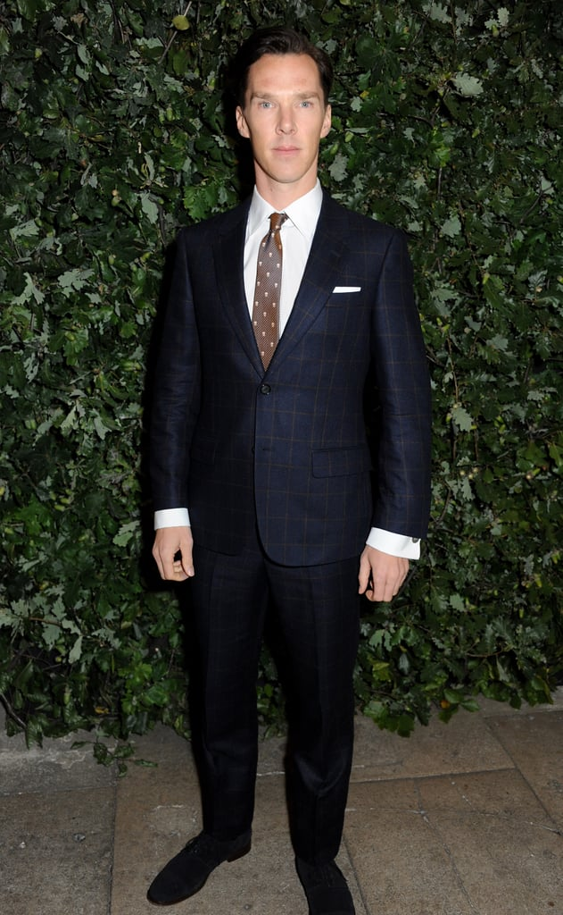 Benedict Cumberbatch attended the Global Fund party during London Fashion Week.