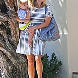 Reese Witherspoon carried baby Tennessee during an outing in LA.