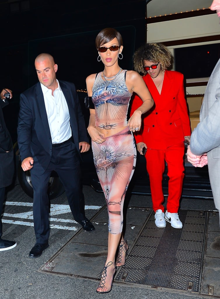Bella Hadid Met Gala After Party Outfit