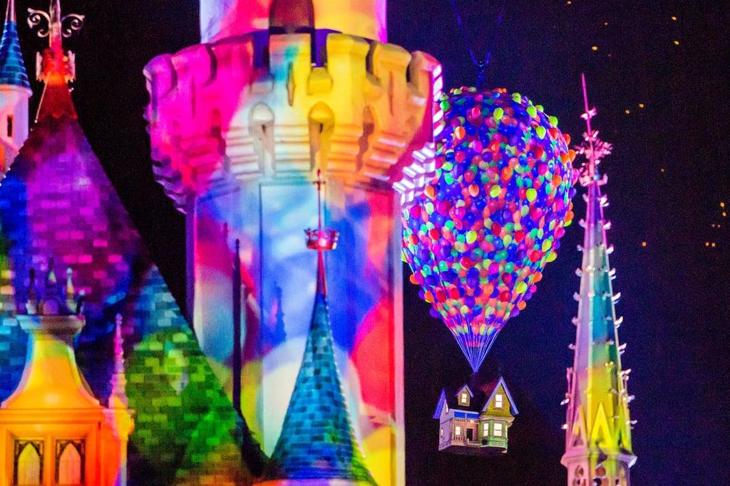 Together Forever Pixar Fireworks at Disneyland Pictures