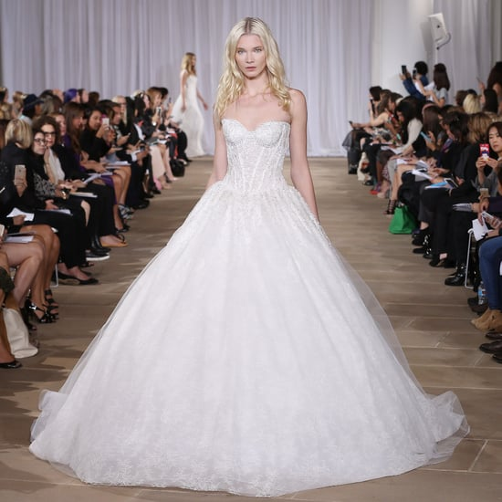 Princess Dresses at Bridal Fashion Week Autumn/Winter 2016